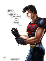 "Superboy in ""Super Disappointment"" by snoozzzzzz"