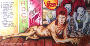 Diamond Dogs full cover art #2 by skylenblue