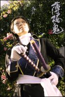 Hakuoki cosplay - Sannan by cat-cat