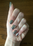 Silver on Silver Nails by NScole