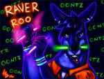 Raver Roo badge by thornwolf