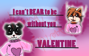 [Old][Request] V-Day ~You're BEARy Special~ by KuraisInspiration