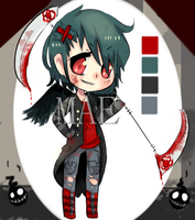 Reaper Chibi Adopt Auction (CLOSED) by necromae