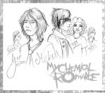My Chemical Romance sketch... by MCRomance13