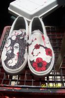 shoes for brittany by SMOKINxWITHxMONSTERS