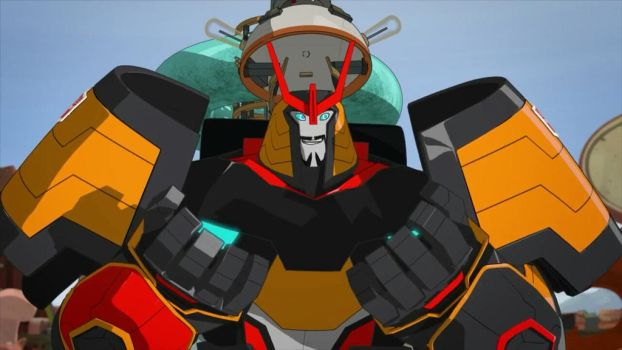 Grimlock in Drift's Body by OPandTSFan