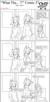 'What The' Comic 57 by TomBoy-Comics