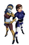 Joanna And Adon by grim-doll