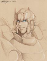 TF - Bluestreak Portrait by straya