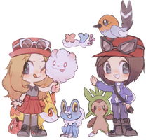 pkmn xy by TheQuietDummy
