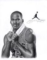Michael Jordan Rookie by Jerry by jerrylavignejr