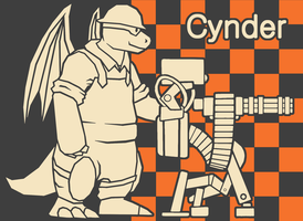 Dragonite Engineer by CyndersAlmondEyes