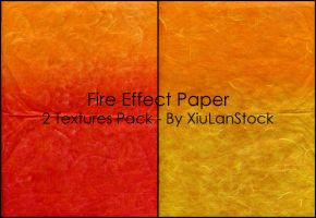 Fire Effect Paper Stock Pack by XiuLanStock