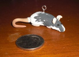 My Clay Rat Zelda by Rubygem14