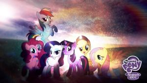 My Little Pony Friendship Is Magic Wallpaper HD by Jackardy