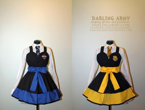 Hufflepuff and Ravenclaw - Harry Potter - Cosplay by DarlingArmy