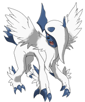 Mega Absol by TheAngryAron