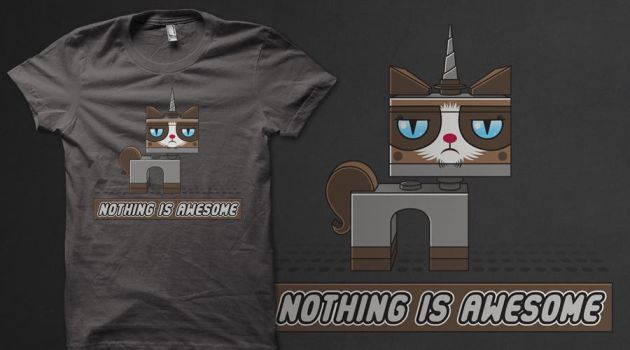 Nothing Is Awesome (Tee) by GriftGFX