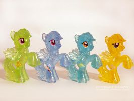 MLP Collection Rainbow Dash shape by lajvio