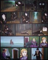 Gabriel and Julia- Comic Page by Terrizae