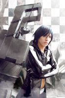 Black Rock Shooter Male Cosplay by Uchiha-Joey