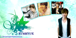 eunhyuk wallpaper 1 by PearlSapphireBlueELF