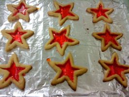 Stain glass cookies2 by PrincesaNamine
