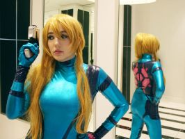 Zero Suit Samus - 04 by galaktikmermaid