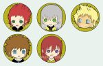 Badges: Kingdom Hearts II by spam-inc