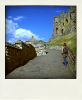Photographer at Scarborough Castle by RoseSparrow