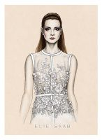 Fashion Illustration: Elie Saab  SS14 by Tania-S