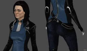 Miranda Lawson Alt Suit HR by g1pno