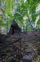 stairs to little castle by Lonely-black-cat