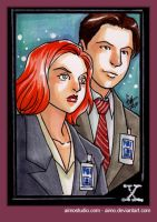 PSC - Scully and Mulder by aimo