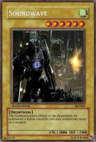 Soundwave Yu-Gi-Oh Card by Ronnie-R15
