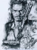 POTC 2 : Orlando Bloom by cacingkk
