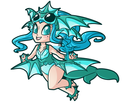 Wicked Wardrobe: Sea Monster Monsdress by DrCrafty