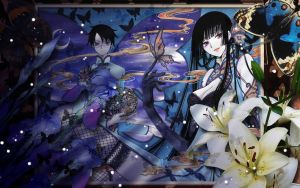xXxholic butterflies v.2 by Hallucination-Walker