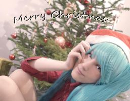 Merry Christmas by Black--Deamon