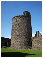 Kidwelly Castle i by makibird