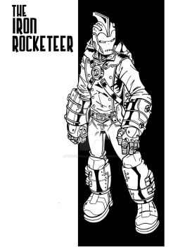 The Iron Rocketeer by wonderfully-twisted