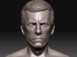 House -Hugh laurie- wip 1 by ra1590
