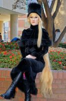 Maetel - Galaxy Express 999: 2 by popecerebus