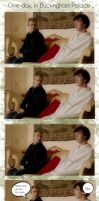 John and Sherlock pic strip by Caes-Doodles