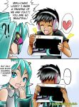 Miku look this!!! By alan Morais Godinho by hirkey