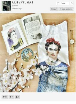 frida kahlo  in instagram by allew