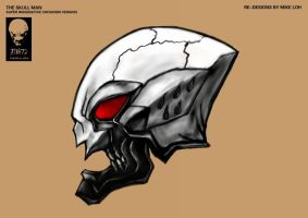 Skullman Helmet SIC versions by Uratz-Studios