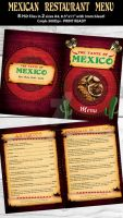 Mexican Restaurant Menu by Hotpindesigns