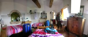Dorm room panorama by ThinRedThread