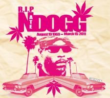 The Legend Nate Dogg R.I.P by SeanJJ